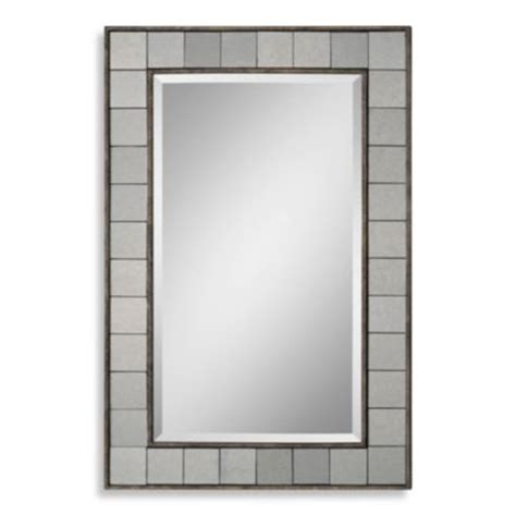 36 inch bathroom mirror buy ren wil brynn 36 inch x 24 inch mirror from bed bath