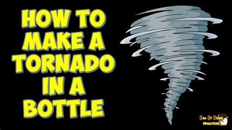 How To Make A Paper Tornado - how to make a tornado in a bottle