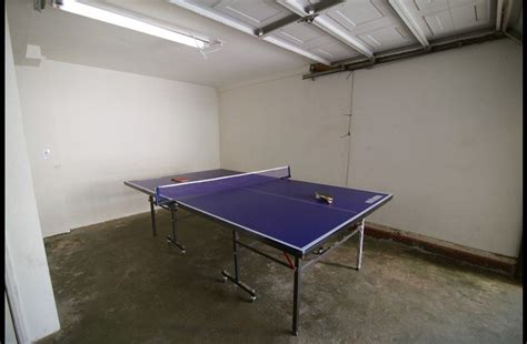 ping pong table in garage lake arrowhead vacation rentals lake arrowhead vacation