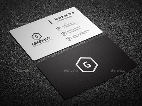 Black And White Business Cards Templates Free by Minimal Black White Business Card Business Card Templates