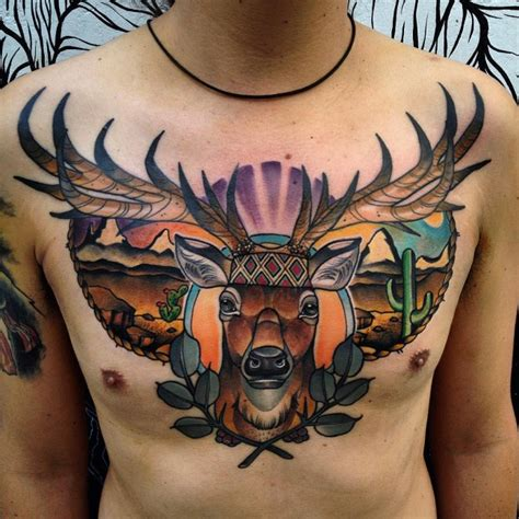 stag tattoo meaning 150 meaningful deer tattoos an ultimate guide october 2018