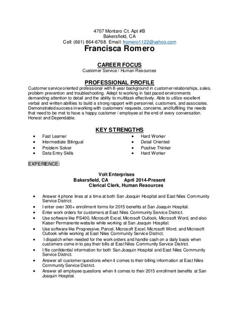 Career Focus Resume by Career Focus On Resume Resume Ideas