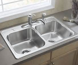Sink In The Kitchen 3 Miracles Two Bowl Kitchen Sink Vs One Bowl