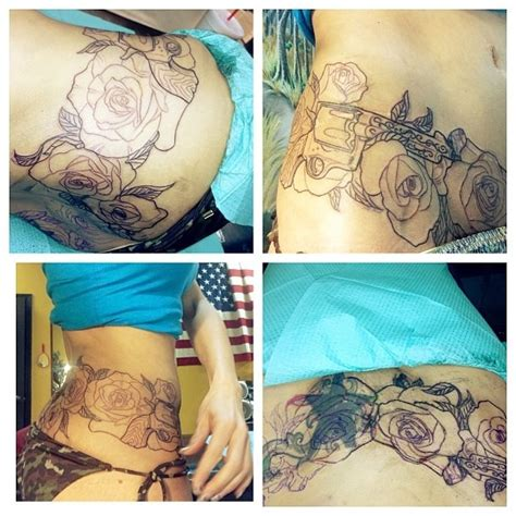 around the waist tattoo designs 17 best images about on designs