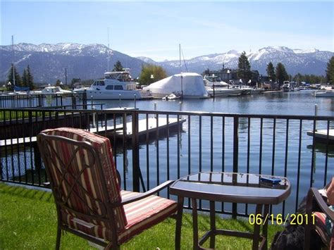 tahoe rentals with boat dock tahoe keys 3 bd condo with private boat dock vrbo
