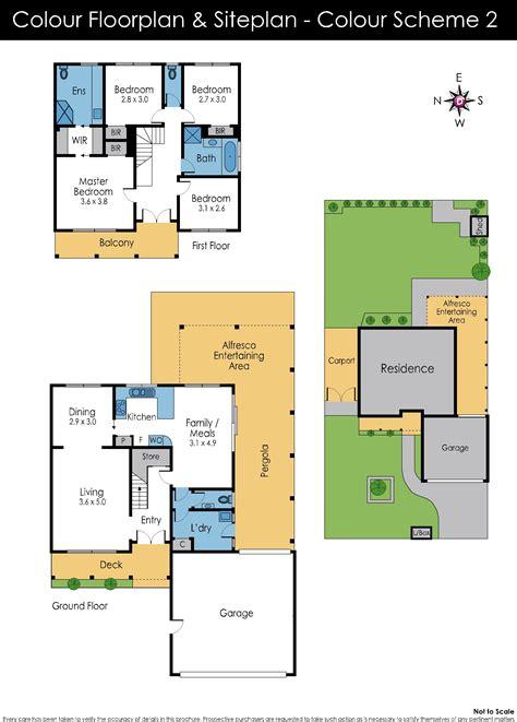 colour floor plan 100 colour floor plan 1 6 baden powell place