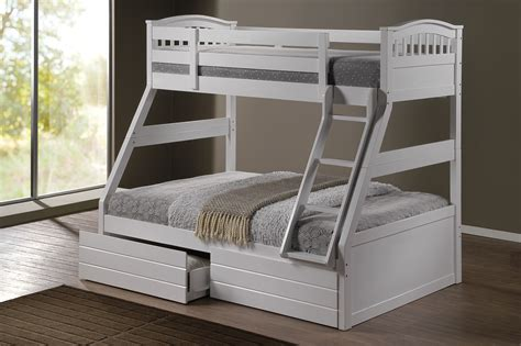 bunk beds pictures ashley white duo double single bunk beds with drawers