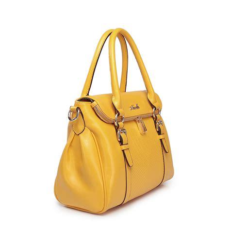 Yellow Bag Fashion fashion leather tote bag yellow