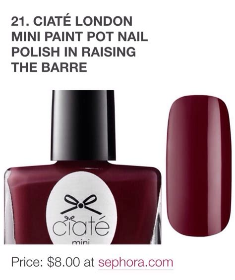 7 Beautiful Fall Nail Polishes by 21 Berry Beautiful Nail Colors For Fall Musely