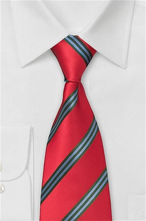 psychology of red colors red neckties