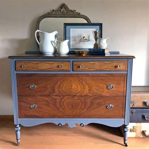 antique walnut gel stained dresser antique dresser in antique walnut gel stain and driftwood milk paint general finishes design