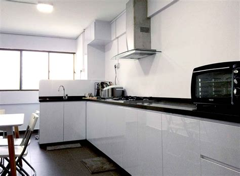 renovation kitchen cabinet hdb 4 room package renovation contractor singapore