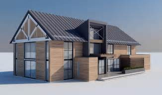contemporary barn house modern barn residence mojo