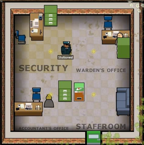 Prison Architect Staff Room by Steam Community Guide Room Sizes A Reference Guide Update 7