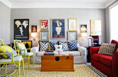 Eclectic Living Room On A Budget My Berried Living Room Design Ideas From Design Shuffle
