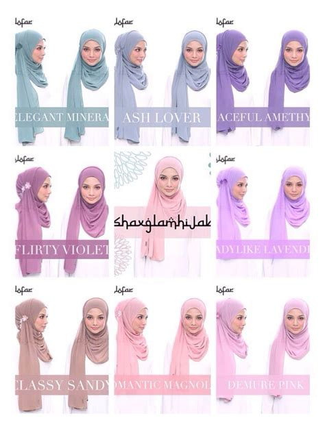 tutorial hijab naelofar 17 best images about hijab tutorials on pinterest oval