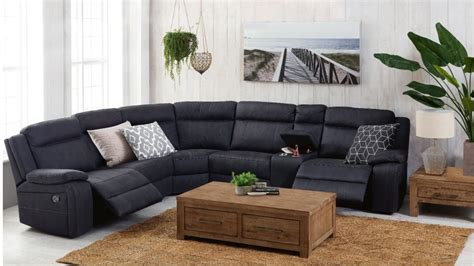 couches harvey norman vienna fabric corner recliner sofa recliner lounges