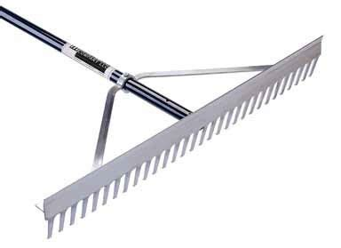 Landscape Rake Stand Lawn Tools And Equipment In Home And Garden At Farmers