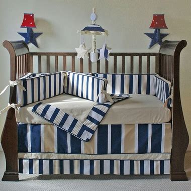 Hoohobbers Crib Bedding Hoohobbers Rugby 4 Crib Bedding Set Free Shipping 389 99