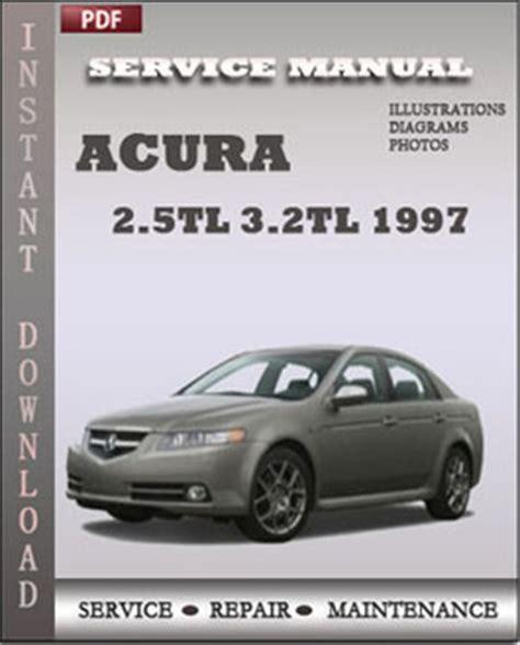 acura 2 5tl 3 2tl 1997 workshop repair manual repair service manual pdf