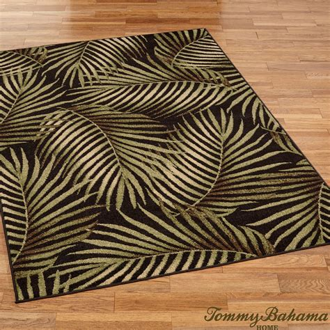 Palm Area Rugs Rugs Ideas Tropical Rugs