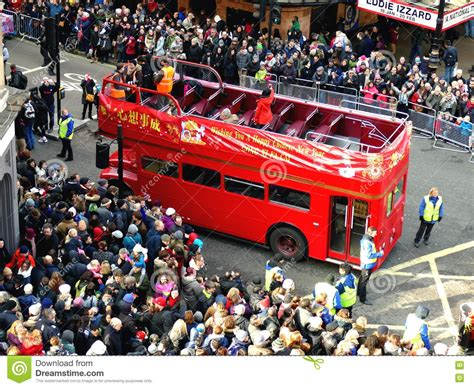 new year parade birmingham 2016 uk 14 february 2016 decker in