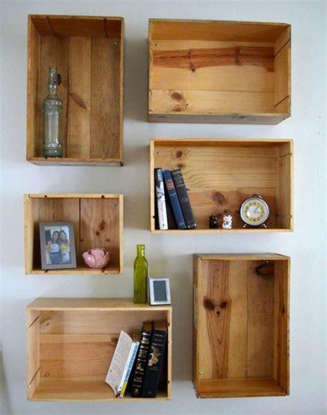 Holzkisten Wand by Weinkisten Regal Selber Bauen F 252 R Eine Stilvolle Einrichtung