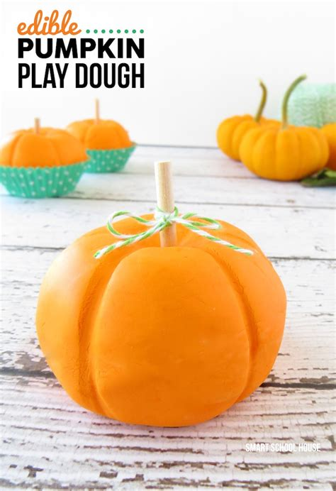 how to make a pumpkin for edible pumpkin play dough