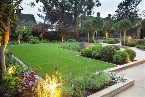 Stunning Suburban Garden Constructed In Hstead By Lynne Garden Design Ideas For Large Gardens