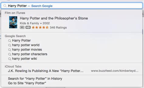 How To Make Safari Search In The Address Bar Mac Os X 10 10 Yosemite Review Macworld Uk