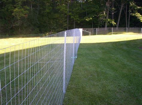 fence wire woven wire hill fence