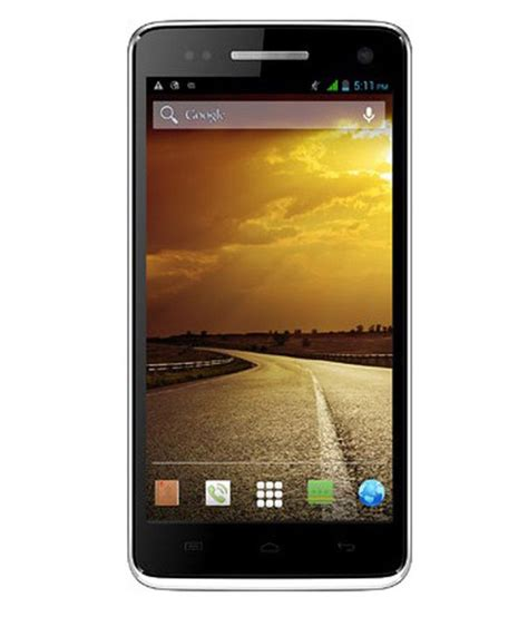 micromax mobile micromax canvas 2 a120 8gb white mobile phones online