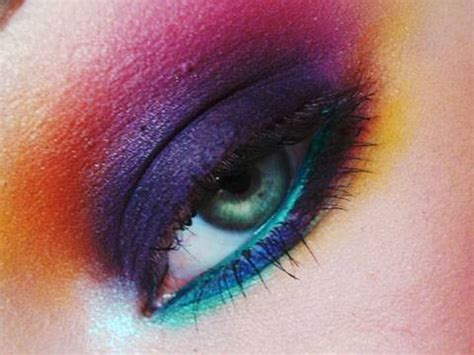 rainbow remix smokey rainbow makeup tutorial youtube