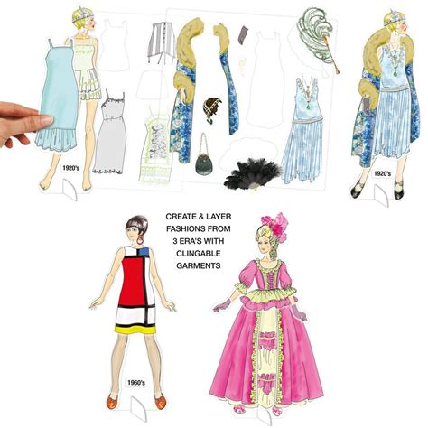 Fashion Through The Ages Essay by Project Runway 174 Quot Fashion Through The Ages Quot Paper Doll Kit Project Runway Brands
