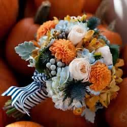 Fall Flower Arrangements Fall Wedding Flowers In Season