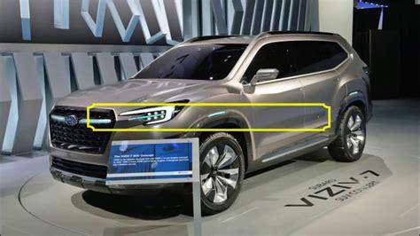 subaru viziv truck interior subaru viziv 7 suv concept