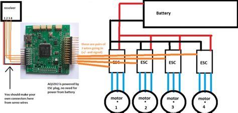 quadcopter esc wiring diagram wiring diagram with