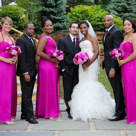 fuschia african american weddings   Google Search