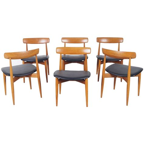 teak dining room chairs danish teak dining chairs by h w klein for sale at 1stdibs