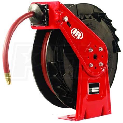 ingersoll rand 6358 retractable composite air hose reel 3 8 quot x 50