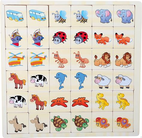 printable animal memory game cards memory game vehicles and animals