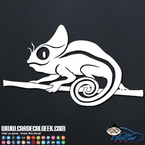 Stiker Stiker Headl Bunglon Chameleon chameleon lizard car vinyl decal sticker reptile decals