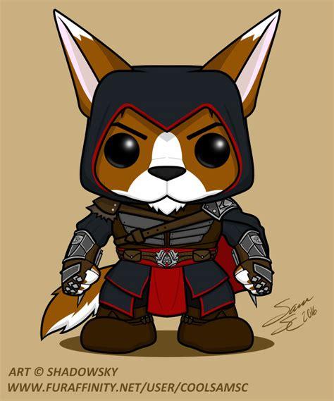 Funko Pop Ubisofts Assassins Creed Ii Ezio wolfwarlock assassin s creed funko pop figure weasyl
