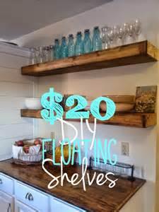 How To Make Cheap Bookshelves - on bliss street diy floating shelves for 20 each