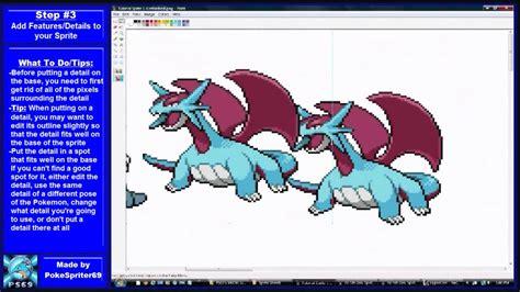 adobe photoshop sprite tutorial pok 233 mon spriting tutorial pok 233 mon fusion youtube