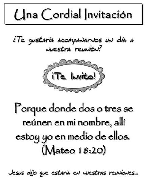 como hacer una invitacion para un culto cristiano folletos para evangelismo