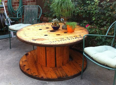 Repurposed Furniture Ideas by Wooden Spools Youtube