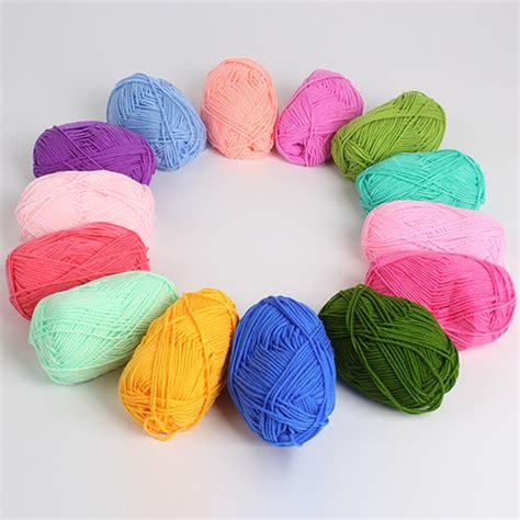 aliexpress yarn hot 5 balls lot natural soft unique bamboo cotton yarn