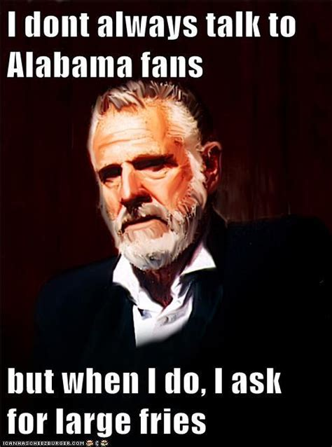 Alabama Memes - popular alabama football memes from recent years