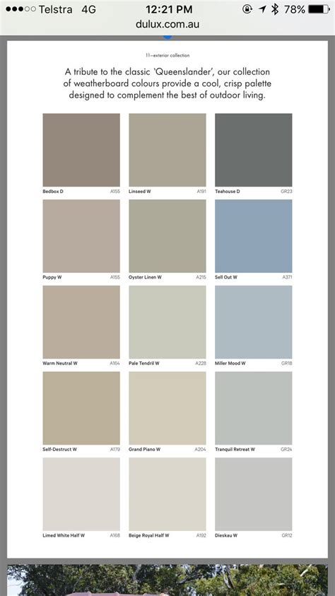 dulux paint colors best 25 dulux exterior paint colours ideas on